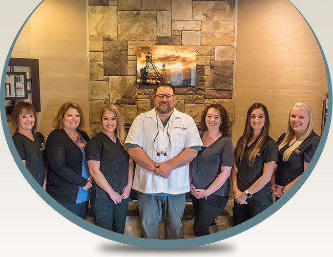 Meet Your Dental Team - Erik H. Johnson, DMD, Keri Johnson – Office Manager